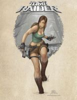 Lara Croft - Tomb Raider by Chadwick-J-Coleman
