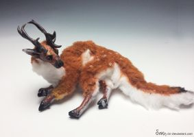 Poseable Fawnling Doll commission SOLD .. by Sovriin