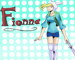 Adventure Time: Fionna by alt-hipster