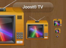 Joost TV icon by iTweek