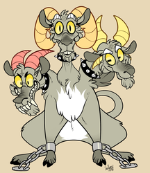 Three Headed Goat (Remake) by BeastOfEuthanasia