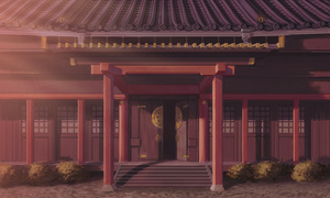 Temple Front by ExitMothership