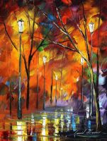 Memories 3 by Leonid Afremov by Leonidafremov