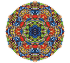 Going Through Hell Mandala by TheSurreal1