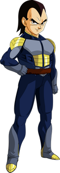 Vegeta (Saiyan Saga) MLL RedesignV2 by MAD-54