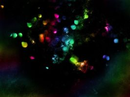 Rainbow Glitter Texture by asphyxiate-Stock