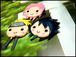 Team 7 Charms by GrandmaThunderpants