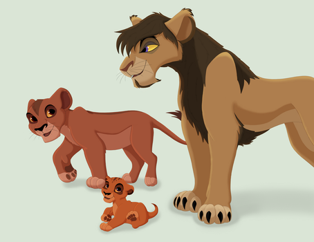 CE - Vitani's family (GB) by Paint-Puff