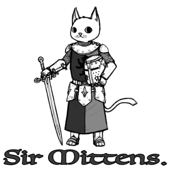 Sir Mittens by maxviolence