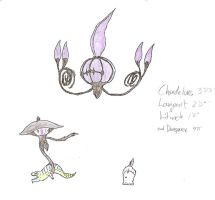 Chandelure by KitWhitham