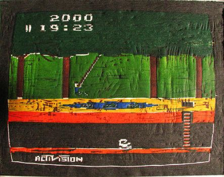 Pitfall -Atari 2600, 1982- by reusdesigns