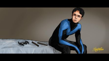 Nightwing _ Dick Grayson by MartyRossArts