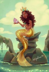 Mermaid With Yellow Tail by DylanBonner