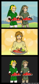 Hearty Food [Comic + Video] by Lethalityrush