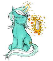 A melody from Lyra. by dreamingnoctis