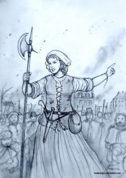 Jeanne Maillotte - 1581, French Wars of Religion