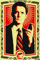 Twin Peaks design for a future painting. by epyon5