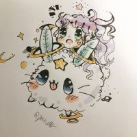 Galactic Space Bunny by cocoa95