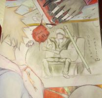 hichiichi: PAINT me in RED by bleach-aholicX3
