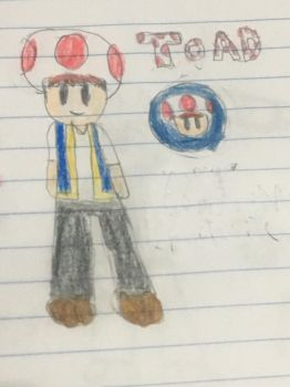 My version of toad by supertoad129