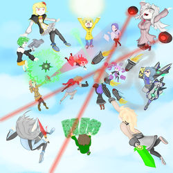 Acceleration of Suguri : Melee in the sky by Tech-Chirac