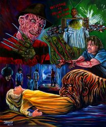A Nightmare on Elm Street III by JosefVonDoom