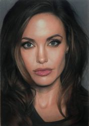 Angelina Jolie by Lizapoly