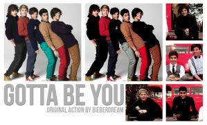 Gotta be you Action by BieberDream