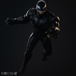 VENOM - 3D Model (Full-Body) by HeroGollum