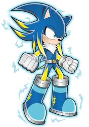 Jolt The Hedgehog (Electric)-HD by Arung98
