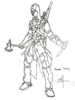 Connor Kenway by nap1991