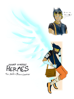 Modern Guardians - Hermes by ChesterPalm