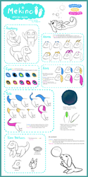 Mekino - species guide [closed species] by AnneFaizuani