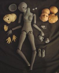 Unfinished Ball Joint Doll - Interrupted Life by AmethystArmor