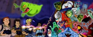 My GhostBusters  tribute by Makinita