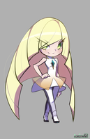 Lusamine   Pokemon Sun and Moon by Level2Select
