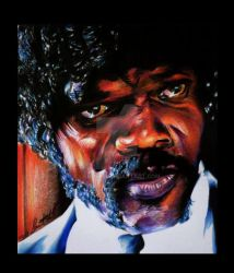 Samuel L. Jackson by Lampert