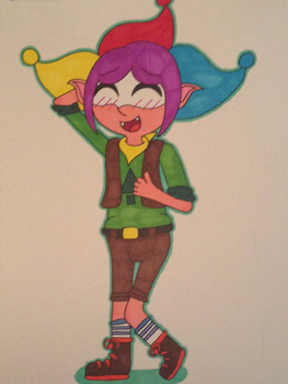 Rascal (Glitter Force) as David (Camp Camp) by puresthope125