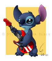 Guitar Stitch by Ribera
