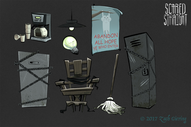 Scared Straight - Props by phantomthepencil