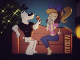 Dudley x daisy: Christmas preview by M3DXD