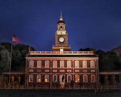 Independence Hall by barefootphotography