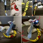 Giant Shiny Milotic (WIP) by SabakuNoYoukai