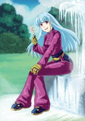 KOF: Kula at the Park by Card-Queen