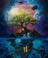 Hideaway for the Imaginative by SereneIllustrations