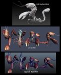 Lobster Monster 3D model by Bawarner