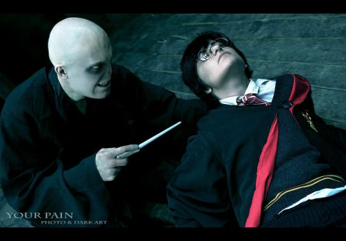 Lord Voldemort, Harry Potter by Your-Pain