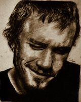 Heath Ledger by wondergunner