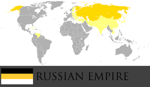 Greater Russian Empire by PrussianInk