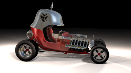 Red Baron 3D model by peterhirschberg